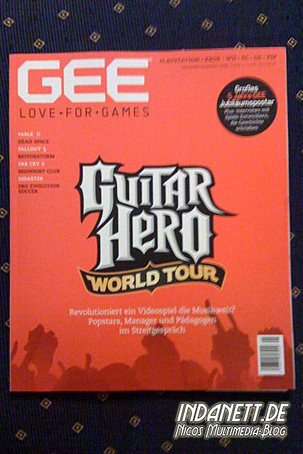 GEE-Titel Guitar Hero