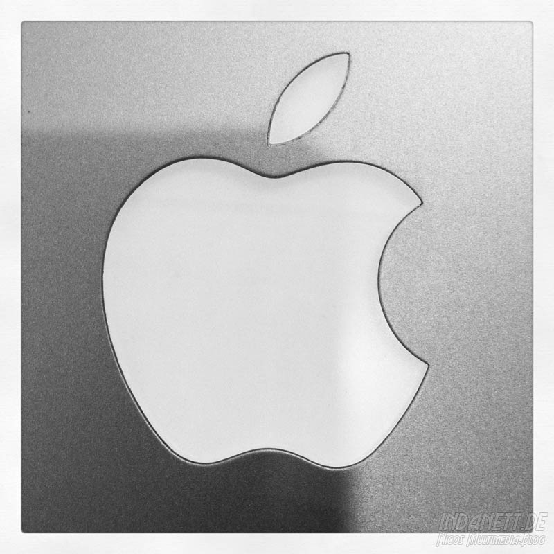 Apple-Logo Powerbook G4