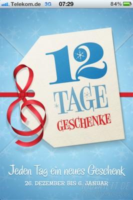 iTunes - 12 Tage Geschenke