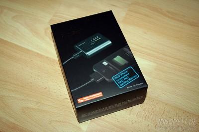 Just Mobile Pro Portabler USB Ersatzakku - Packshot