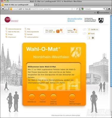 Wahl-O-Mat 2012