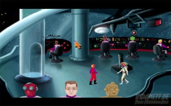 Spacequest 2 - Spielszene