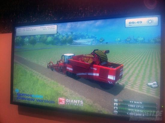 gamescom 2012 - Landwirtschafts-Simulator
