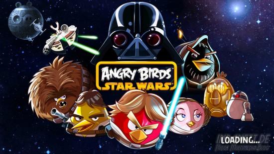 Angry Birds Star Wars - Startbildschirm