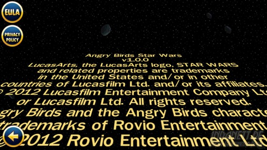 Angry Birds Star Wars - Abspann
