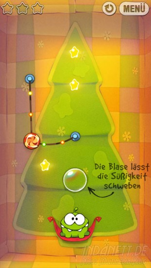 Cut the Rope: Holiday Gift - Level
