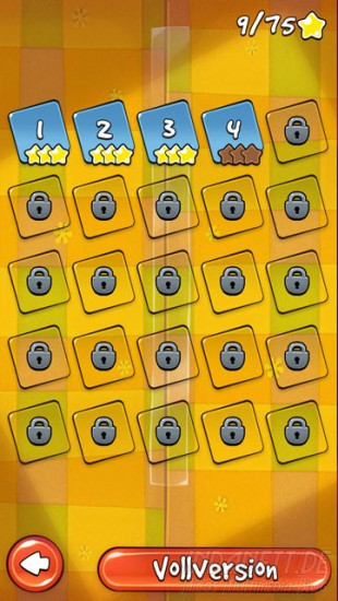 Cut the Rope: Holiday Gift - Levelauswahl