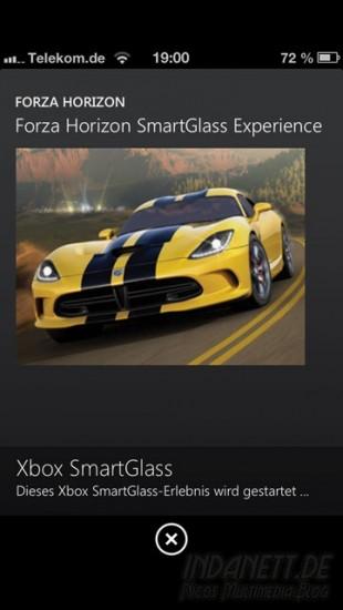 SmartGlass - Forza Horizon