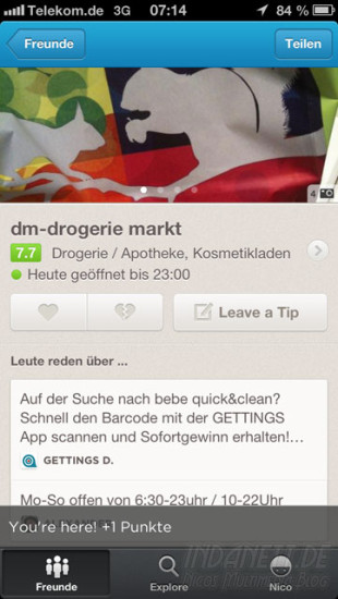 Foursquare-Update Screenshot 1