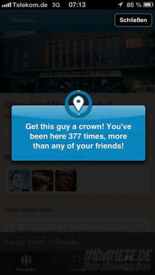 Foursquare-Update Screenshot 4