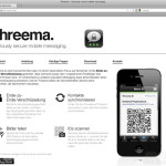 Threema-Internetseite