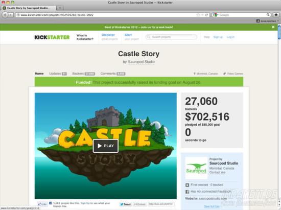 Screenshot Castle Story 2013