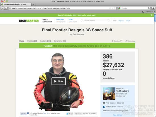 Screenshot Space Suit 2013
