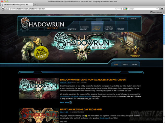 Screenshot Shadowrun Returns 2013