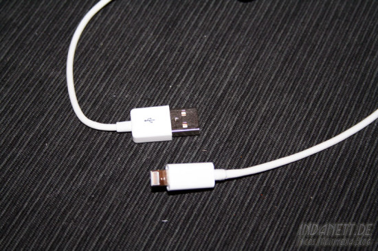 Lightning Kabel - USB-Stecker