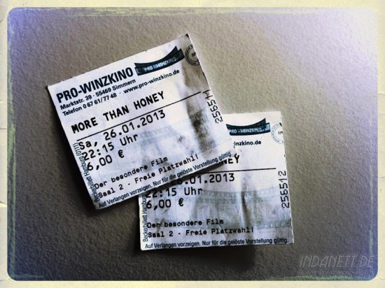More than honey - Ticket