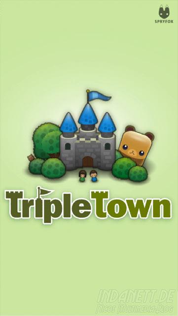 Tripletown - Startbildschirm