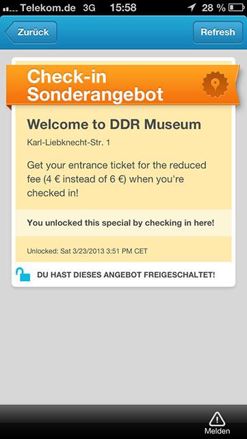Foursquare DDR-Museum