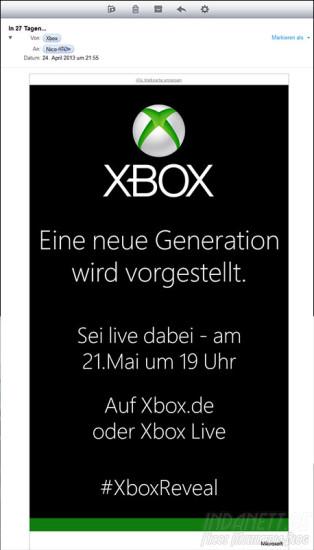 Neue Xbox 2013
