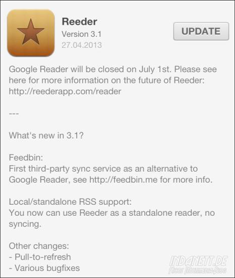 Reeder 3.1