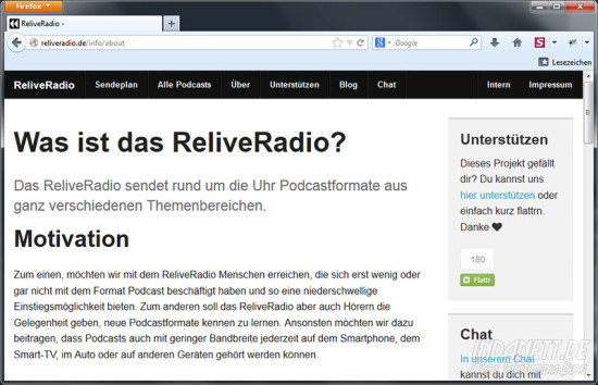 ReliveRadio Screenshot