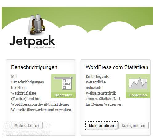 Wordpress-Statistik deaktivieren - Schritt 1