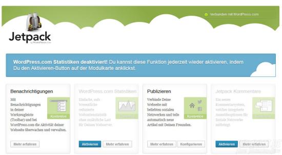 Wordpress-Statistik deaktivieren - Schritt 3