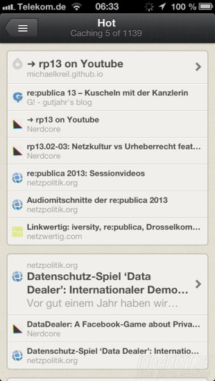 Reeder - Hot-Feature