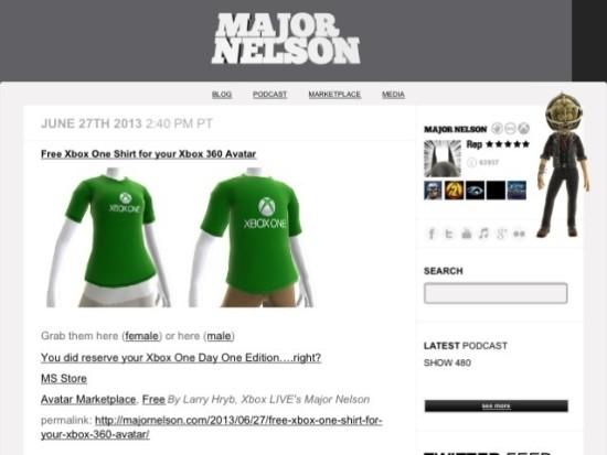 Xbox One Shirt für lau