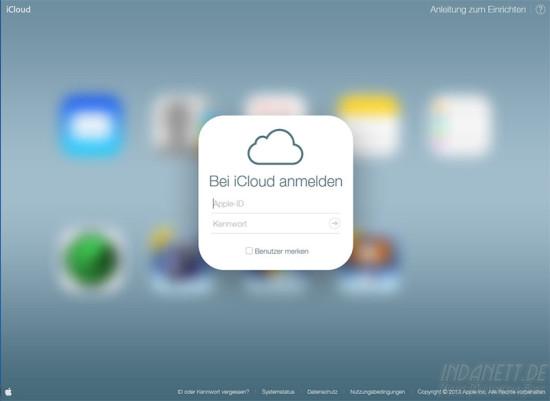 iCloud im iOS7-Design