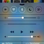 Kontrollzentrum iOS7