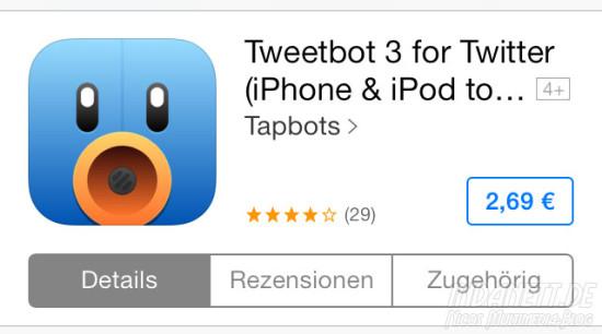 Tweetbot 3 im App Store