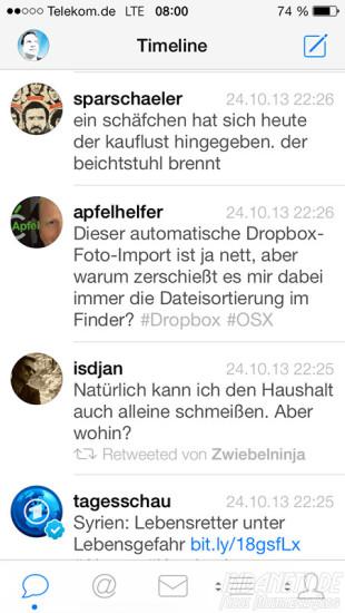 Tweetbot 3 - Timeline