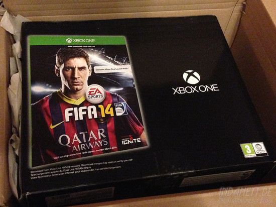 Xbox One Day One mit FIFA 14