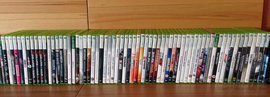 Spieleregal Xbox 360