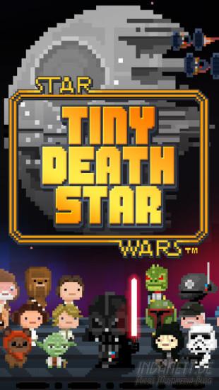 Tiny Death Star - Startbildschirm