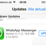 WhatApp iOS7 Update