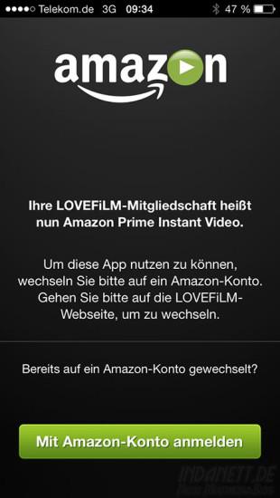 Amazon-Lovefilm Änderung der Mitgliedschaft