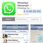 Facebook kauft WhatsApp -Titel
