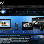 Sky Go Internetseite