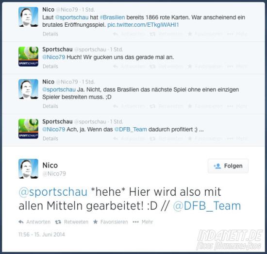 Sportschau-App Twitter
