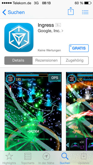 Ingress im App Store