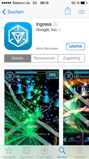 Ingress im App Store