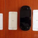 iPhone 6 Größenvergleich mit PSvita