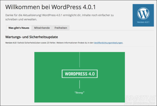 Wordpress 4.0.1