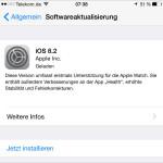 Apple iOS 8.2 Update