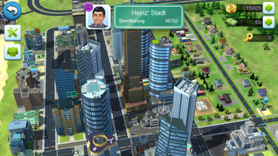 SimCity Buildit Stadt