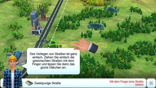 SimCity Buildit Straßen