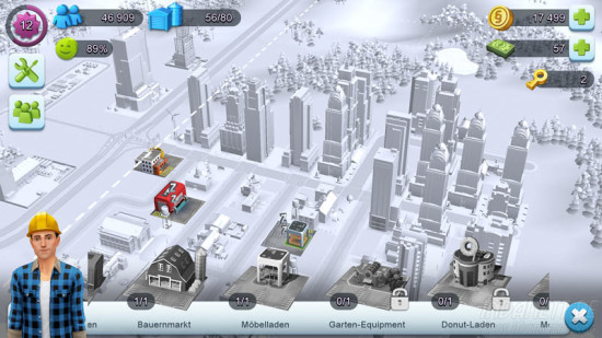 SimCity Buildit Läden