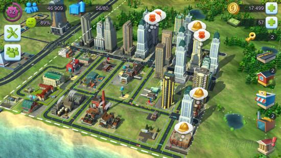 SimCity Buildit Bauen und Polizei